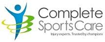 Complete sports care logo